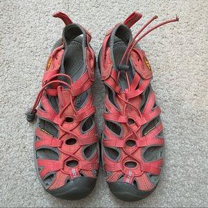 Keen Whisper Waterproof Sandals size 9